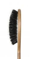GORGOL - NATUR - Pneumatyczna szczotka do włosów z naturalnego włosia + ROZCZESYWACZ - 15 02 142