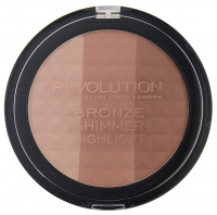 MAKEUP REVOLUTION - BRONZE SHIMMER HIGHLIGHT - Bronzing powder
