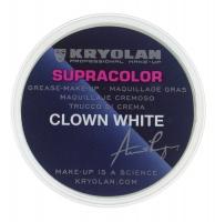 KRYOLAN - SUPRACOLOR CLOWN WHITE - Tłusta farba do malowania twarzy - ART. 1081