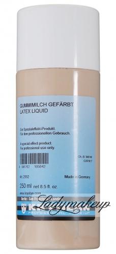 KRYOLAN - LATEX LIQUID - Latex/ mleczko do efektów specjalnych (kolor) 250 ml - ART. 2552
