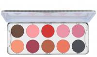 KRYOLAN - BLUSHER - Palette of 10 blushes - ART. 5194 - Matt - Matt