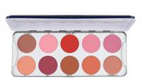 KRYOLAN - BLUSHER - Palette of 10 blushes - ART. 5194 - Rouge 2 - Rouge 2