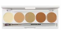 KRYOLAN - Dermacolor - CAMOUFLAGE CREME - Palette of 5 Camouflages - ART. 75015 - 1 - 1