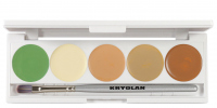 KRYOLAN - Dermacolor - CAMOUFLAGE CREME - Palette of 5 Camouflages - ART. 75015 - 3 - 3