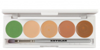 KRYOLAN - Dermacolor - CAMOUFLAGE CREME - Palette of 5 Camouflages - ART. 75015 - DQ4 - DQ4