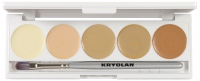 KRYOLAN - Dermacolor - CAMOUFLAGE CREME - Palette of 5 Camouflages - ART. 75015