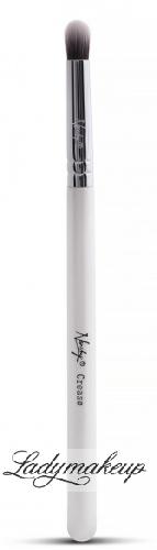 Nanshy - Crease - Pędzel do aplikacji i rozcierania cieni - MC-C-01 (Pearlescent White)
