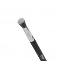 Nanshy - Eye Crease - Pędzel do aplikacji i rozcierania cieni w załamaniach powiek - EB-05-OB (Onyx Black)