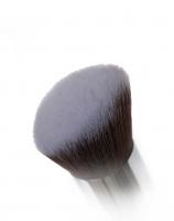 Nanshy - Angled Airbrush - Pędzel do podkładu i konturowania - FB-FA01-OB (Onyx Black)