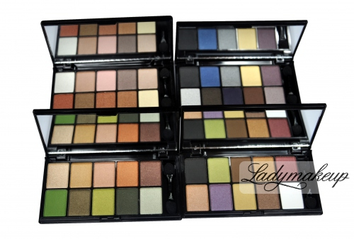 NYX Paletka 10 cieni - Runway Collection