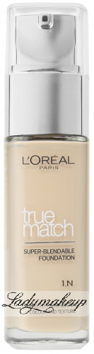 L'Oréal - The foundation TRUE MATCH - Podkład idealnie dopasowujący się do koloru skóry