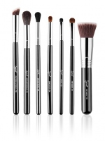 Sigma - BEST OF SIGMA BRUSH SET - Zestaw 7 pędzli do makijażu - CHROME