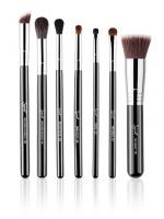 Sigma - BEST OF SIGMA BRUSH SET - Set of 7 make-up brushes - CHROME