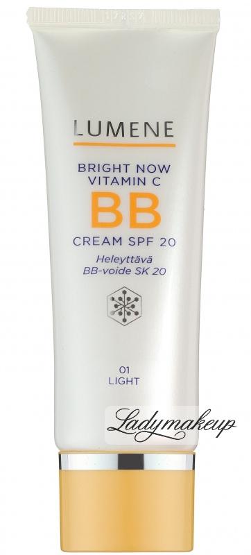 lumene bright now vitamin c bb cream