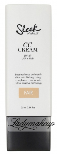 Sleek - CC CREAM - Krem CC