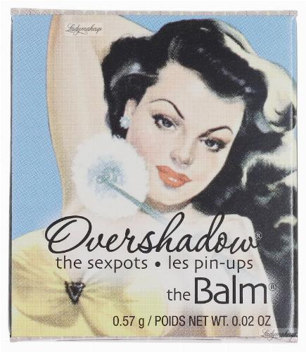 THE BALM - Overshadow mineral eyeshadow - Mineralny cień do powiek