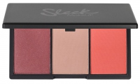 Sleek - Blush By 3 Palette - Paleta 3 róży - LIMITED EDITION - 087 Santa Marina