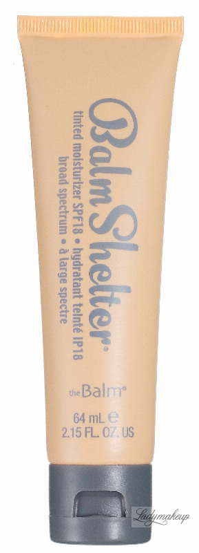 The Balm Balm Shelter Tinted Moisturizer Coloring Cream
