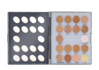KRYOLAN - ULTRAFOUNDATION MINI-PALETTE - Paleta 18 mini podkładów kryjących - ART. 9006 - NO. 1 - NO. 1