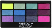 FREEDOM - PRO 12 CHASING RAINBOWS - Paleta 12 cieni do powiek