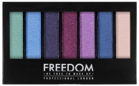 FREEDOM - PRO SHADE & BRIGHTEN PLAY KIT - Palette of 6 Eyeshadows + Highlighter