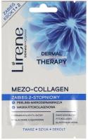 Lirene - MEZO-COLLAGEN - Peeling-mikrodermabrazja + maska fitokolagenowa (zabieg odmładzający skórę)