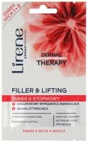 Lirene - FILLER & LIFTING - Hialuronowy wypełniacz zmarszczek + maska liftingująca (zabieg ujędrniający skórę)