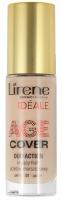 Lirene - AGE COVER DUO ACTION - Kryjący fluid przeciwzmarszczkowy