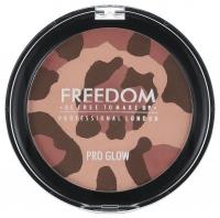 FREEDOM - PRO GLOW -  Puder brązujący - mozaika