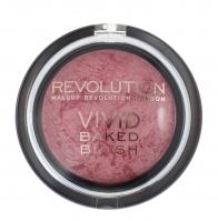 MAKEUP REVOLUTION - VIVID BAKED BLUSH - Wypiekany róż do policzków