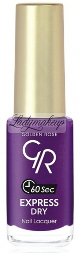 Golden Rose - EXPRESS DRY Nail Lacquer - Szybkoschnący lakier do paznokci - O-GED