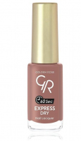Golden Rose - EXPRESS DRY Nail Lacquer - Szybkoschnący lakier do paznokci - O-GED - 34 - 34