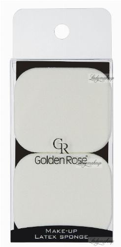 Golden Rose - MAKE-UP LATEX SPONGE - Zestaw 2 lateksowych gąbek do podkładu - K-FIR-18