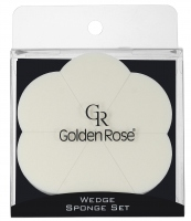 Golden Rose - WEDGE SPONGE SET - Set of 6 make-up sponges - K-FIR-15