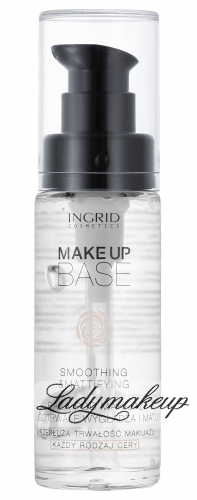 INGRID - MAKE UP BASE - SMOOTHING & MATTIFYING - Wygładzająco-matująca baza pod makijaż