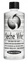 Seche - VITE - PROFESSIONAL KIT - DRY FAST TOP COAT - Szybkoschnący lakier ochronny do paznokci - 14 ml + 118 ml (ZESTAW)