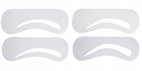W7 - BROW MASTER STENCIL KIT - Zestaw 4 szablonów do stylizacji brwi