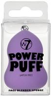 W7 - POWER PUFF - FACE BLENDER SPONGE - Gąbka do aplikacji kosmetyków - FIOLETOWA - (G)