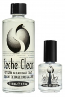 Seche - CLEAR - PROFESSIONAL KIT - CRYSTAL CLEAR BASE COAT - Lakier bazowy - 14 ml + 118 ml (ZESTAW)