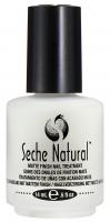 Seche - NATURAL - MATTE FINISH NAIL TREATMENT - Odżywka wzmacniająca do słabych paznokci - 14 ml