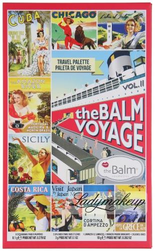 The BALM  - VOYAGE TRAVEL PALETTE - VOL.II - Paleta kosmetyków do makijażu
