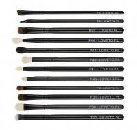 LOVETO.PL - Set of 12 make-up brushes + cosmetic bag