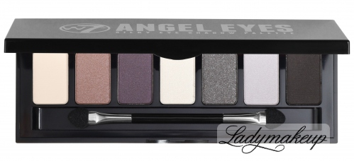 W7 - ANGEL EYES SILKY EYE SHADOW PALETTE - JET SET