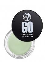 W7 - GO - CORRECTIVE CONCEALER - Korektor specjalistyczny - GREEN - GREEN