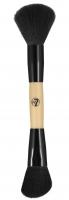 W7 - DUO POWDER BRUSH - Double brush for contouring