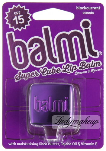 Balmi - SUPER CUBE LIP BALM - BLACK PINK
