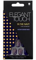 ELEGANT TOUCH - Paznokcie z samoprzylepną taśmą - IN THE NAVY - 40 13 349