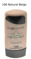 Max Factor - Podkład Lasting Performance -106 Natural Beige - 106 Natural Beige