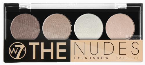 W7 - THE NUDES eyeshadow palette - Paleta 4 cieni do powiek