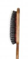 GORGOL - NATUR - Pneumatyczna szczotka do włosów z naturalnego włosia + ROZCZESYWACZ - PELIKAN - 15 38 642